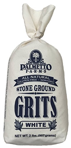 Palmetto Farms, Grits Stone Ground White, 32 Ounce