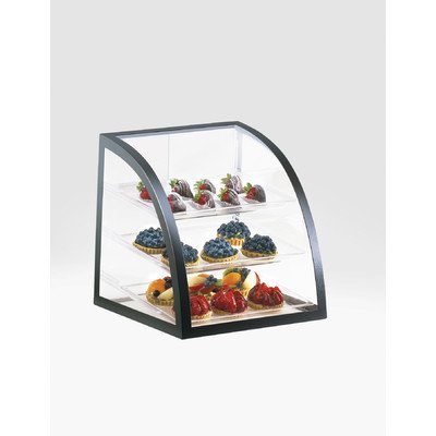 Cal-Mil P255-13 Iron Display Cases, 16.5'' Length x 16'' Width x 16.5'' Height, Black
