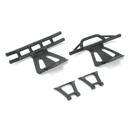 Lst Chassis - Team Losi Front/Rear Bumpers & Braces: LST/2 XXL/2