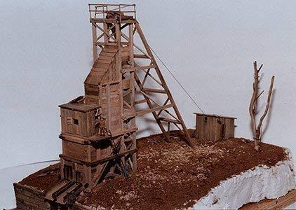 Spur HO -- Bausatz Bergwerk Mine Burnt River