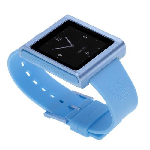 Film Holder Sheet (nanox - Apple iPod nano watch conversion kit (Blue Case / Blue Strap))