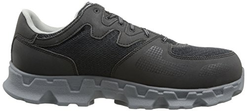 Alloy Static Electro Grey Toe Microfiber Black Powertrain and PRO Shoe Industrial Men's Textile Dissipative Timberland BHU4tff