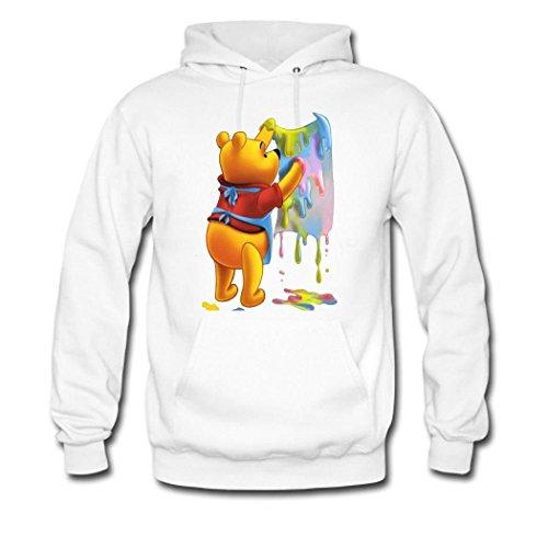 Winnie the Pooh art Custom Women's Hoody Hoodie Hooded Sw...