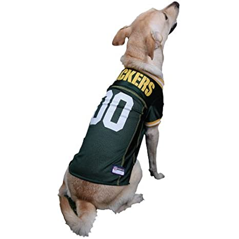 0adf3331c80 Amazon.com : GREEN BAY PACKERS Dog Jersey ☆ ALL SIZES ☆ Licensed NFL (XL) : Pet  Supplies