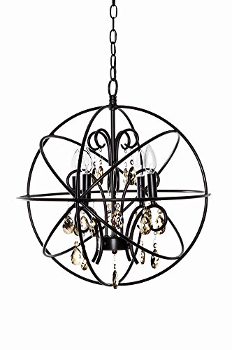 Maxim Lighting 25142 Orbit Single-Tier Chandelier, Oil Rubbed Bronze Finish, 19 by 21.5-Inch For Sale