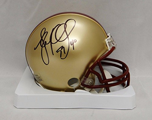 Boston College Football Helmet (Luke Kuechly Autographed Boston College Eagles Mini Helmet- Witnessed Auth - JSA Certified - Autographed College Mini Helmets)
