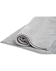 LIVINGTASTE Bath Rug Ultra Soft and Absorbent Door Mat Microfiber Thick Non Slip Kitchen Rugs Machine Washable Floor Mat
