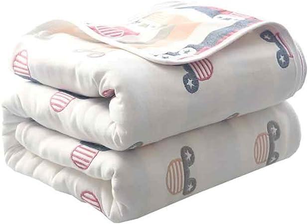 Mantas, algodón Grueso Mantas, edredones Toalla japoneses, Siesta Aire Acondicionado Mantas de algodón, edredones, Mantas Toalla. (Color : H, Size : 180cm*200cm): Amazon.es: Hogar