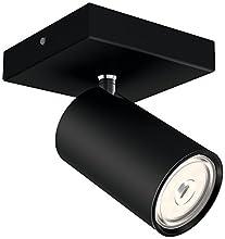 Philips Lighting myLiving Foco iluminación interior, negro