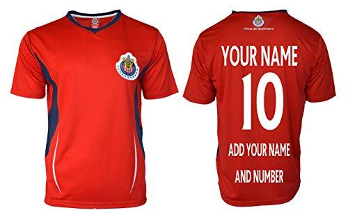 9891637d8 RhinoxGruop Chivas Soccer Training Jersey Performance FMF Customized Any  Name