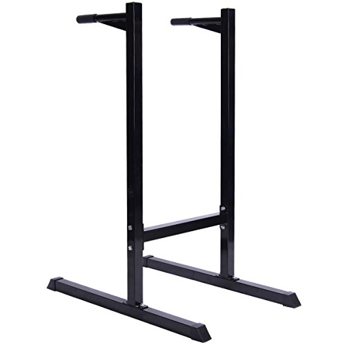 Goplus Dipping Station Pull/Push/Up Stand Bar Fitness Exercise Workout