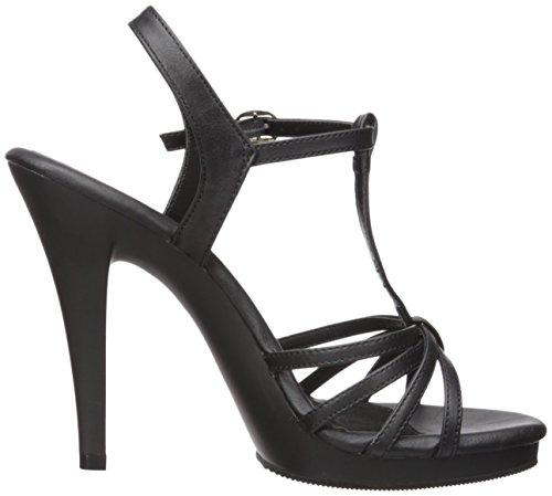 vestir Sandalias M para Matte B Pu FLA420 Blk Negro color de mujer Blk Pleaser wCXqUtT