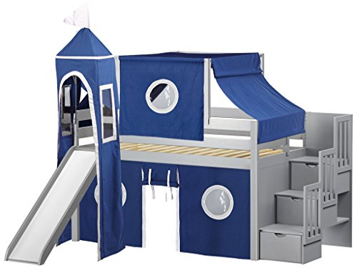 childrens slide bed - 7