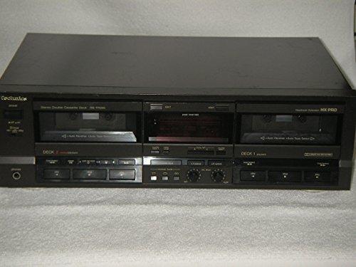 Amazon.com: Technics estéreo doble Cassette, Modelo rs-tr355 ...