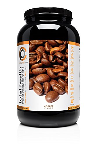 CurcuminPro Total Health Meal Replacement Shake, Coffee, 2.07 lbs. Superior Bioavailability. All Natural and 36x More bio Soluble, 20 Servings