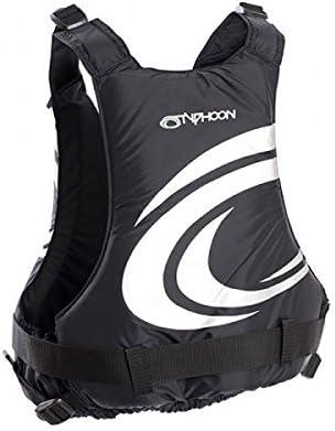 Typhoon Yalu Wave Control Buoyancy Jacket Black//Silver S//M
