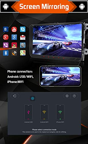 9 Pulgadas Android 8.1 QuadCore Double DIN Car Radio ...