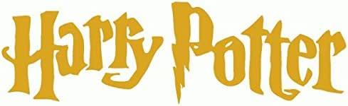 Harry Potter-Pegatinas Prespaziato-- 10 cm, color dorado: Amazon.es: Coche y moto