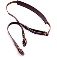 b.still Leather Camera Strap - Fits DSLR Leica Canon Nikon Fuji Olympus Lumix Sony + Lens Bag