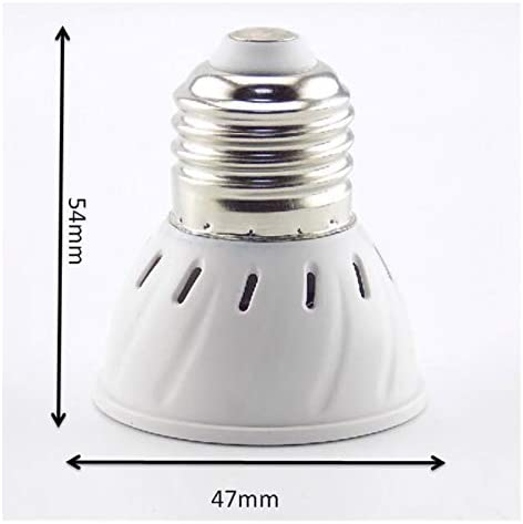 E27 36//54//72 LED Grow Bulb for Flowering Hydroponics System Room Growth Lights