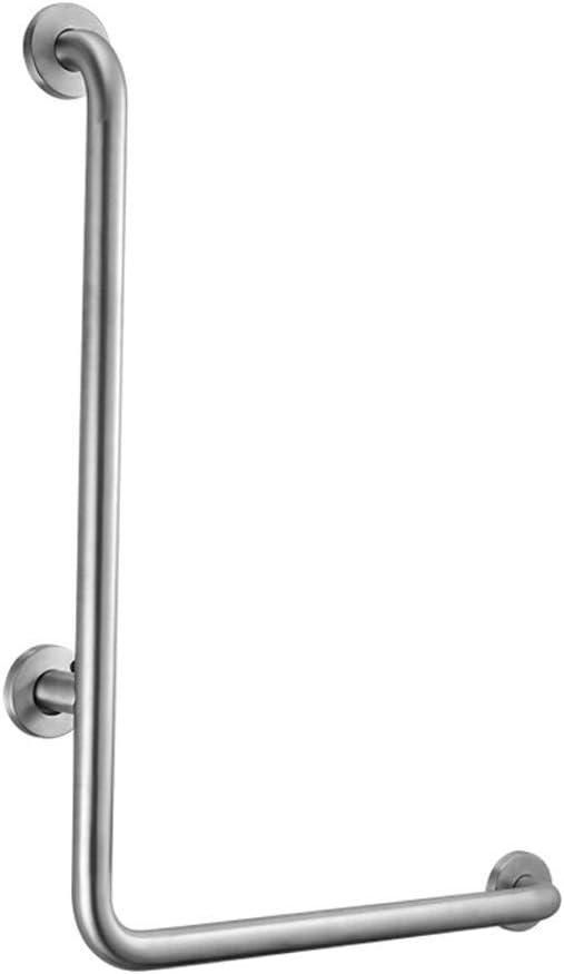 FSS Shower Grab Bars Stainless Steel Handrail L-Shaped Armrest Toilet Bathroom Old Slip Non-Accessible Handrail Corridor Handrail 41eWy89mKSLSL1024_