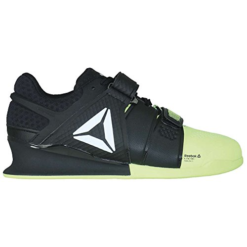 Reebok Legacy Lifter Shoe Mens Weightlifting 12 Electric Flash-Black-White
