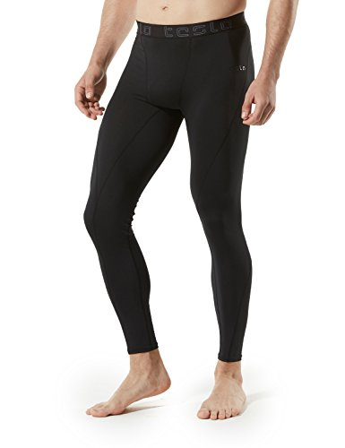 Tesla Men's Compression Pants Baselayer Cool Dry Sports Tights Leggings MUP19/MUP09/P16