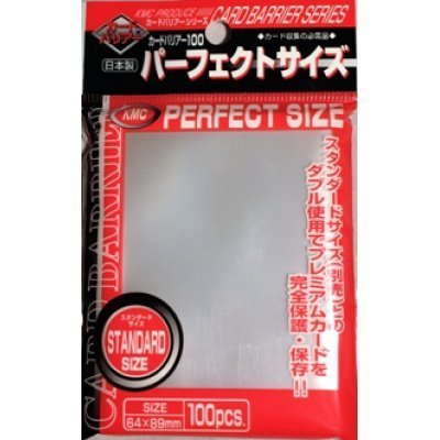 Perfect Barrier Card Sleeves (100 Piece), Clear,