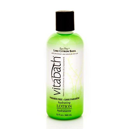Vitabath Body Lotion, Lime Citron Basil, 0.978 Ounce