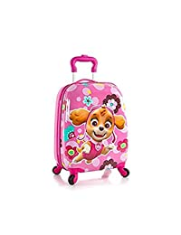 Heys Nickelodeon PAW Patrol Hardside Spinner Luggage for Kids - 18 Inch [ Pink ]