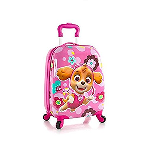 Ck Be Unisex Type - Heys Nickelodeon PAW Patrol Hardside Spinner Luggage for Kids - 18 Inch [ Pink ]