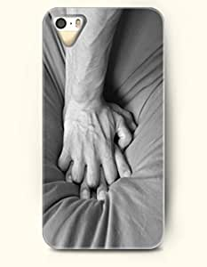 Phone Case For iPhone 5 5S Man And Woman Hands - Hard Back Plastic Case / Sexy Girl / OOFIT Authentic