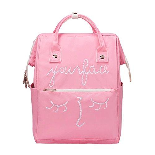 Pink à Couleur Sac Dos à à Sac Dos à Féminin à Sac Black Sac Bandoulière à gj Sac Text Bandoulière Bandoulière Féminin IUg1qfn