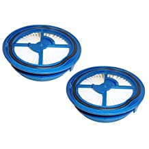 2 Pack Bissell Washable & Reusable Filter for Symphony All-In-One 1132 Series Vacuum & Steam Mop Replaces part # 1603520 Designed by Best Vacuum Filter