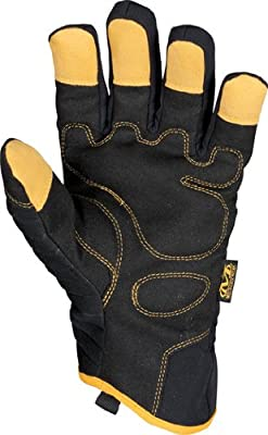 Mechanix Cold Weather Winter Armor Pro Gray & Black Work Gloves - MCW-WP