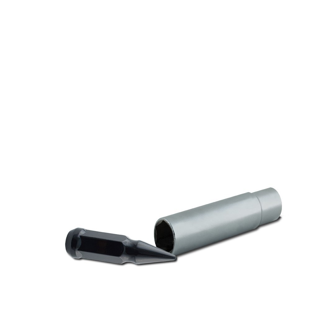 UTV Chrome 19mm Spiked Lugz UTV Metal Lugz 7905K4 Spiked Lugz
