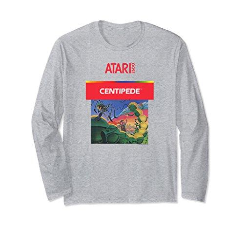 Unisex Atari Centipede 2600 Box Art Long Sleeve Shirt - 4 colors