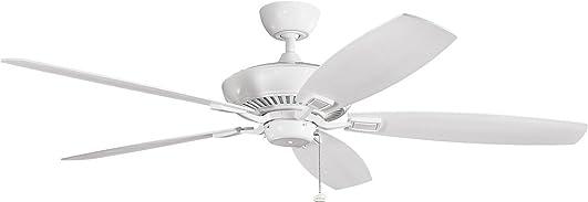 Kichler 300188WH Modern Ceiling Fan