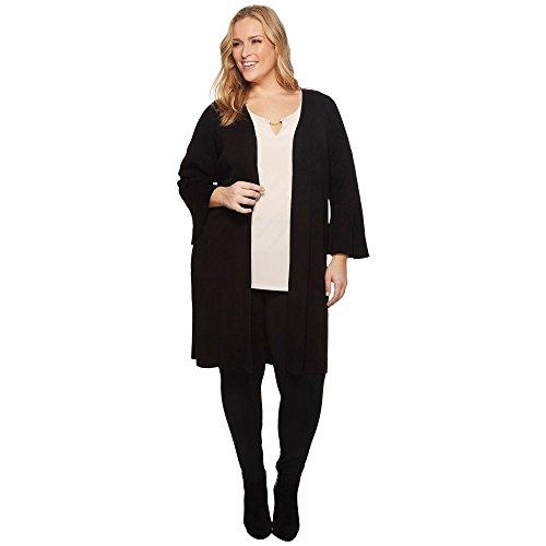 (カルバンクライン) Calvin Klein Plus レディース トップス カーディガン Plus Size Long Flare Sleeve Cardigan [並行輸入品]