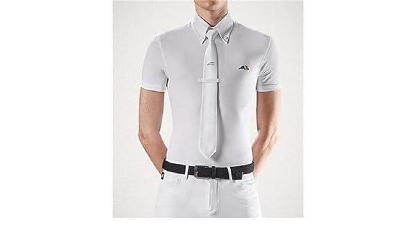 Equiline Fox XL - Polo para Hombre, Color Blanco: Amazon.es ...