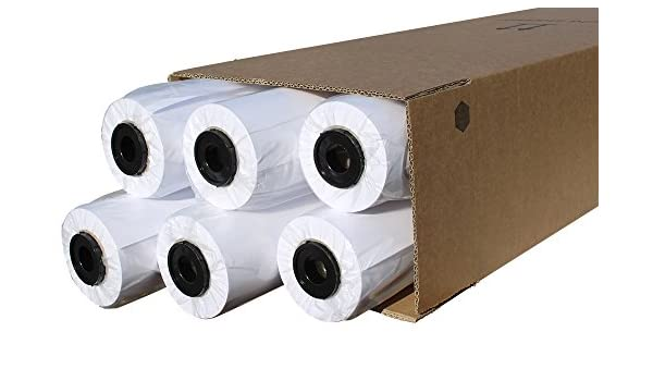 cabro 50420 – 50 de gran calidad, 12 rollos de papel para plóter ...