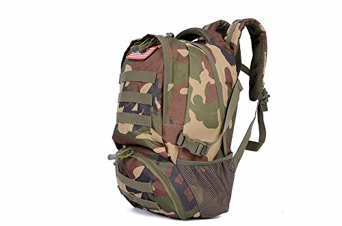 Outdoor Military Tactical Backpack Daypack Bag (JC Camo)