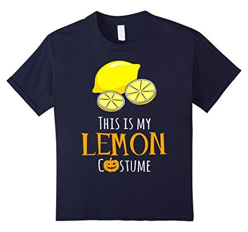 Kids This is My Lemon Costume Easy Family Halloween T-Shirt 8 (Halloween Costumes For Family Of 8)