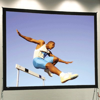 Da-Tex Fast Fold Heavy Duty Deluxe Complete Rear Projection Screen - 6' x 8' Size: 7'6