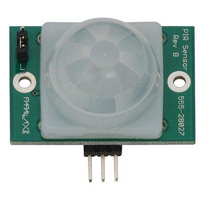 Parallax 555-28027 PIR Sensor, Passive, 1.41