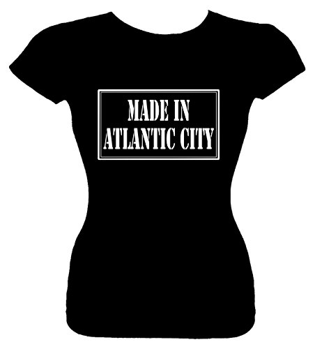 Junior's Size S T-Shirt (MADE IN ATLANTIC CITY) Fitted Girls - Kids City Atlantic In