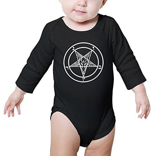 TylerLiu Demon Sigil of Baphomet Unisex Baby Boys Girls Onesie Bodysuit Soft Comfortable