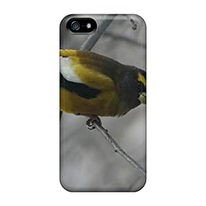High-quality Durable Protection Case For Iphone 5/5s(male Evening Grosbeak)