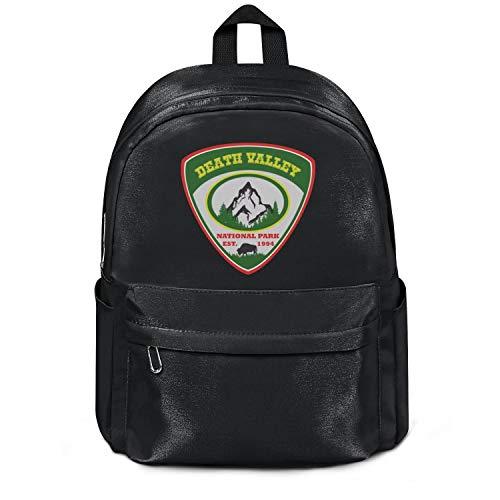 (Death Valley National Park EST.1994 Nylon Mini Backpack For Women Custom Diaper Backpack For)