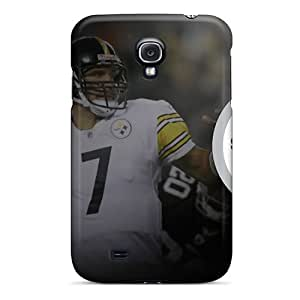 Durable Cases For The Galaxy S4- Eco-friendly Retail Packaging(pittsburgh Steelers) by supermalls